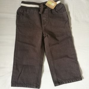 Brown jeans / pants 18-24 months